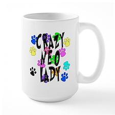 Crazy Neo Lady Mug