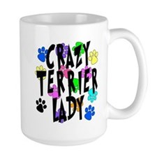 Crazy Rat Terrier Lady Mug