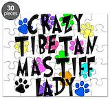 Tibetan mastiff Puzzles