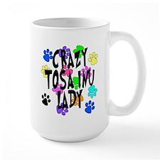 Crazy Tosa Inu Lady Mug