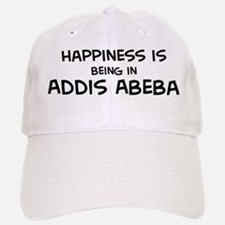 Happiness is Addis Abeba Baseball Baseball Cap