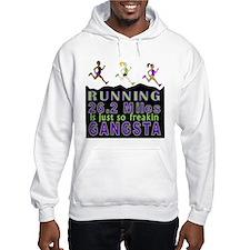 RUNNING IS SO GANGSTA FULL MARATHON Hoodie
