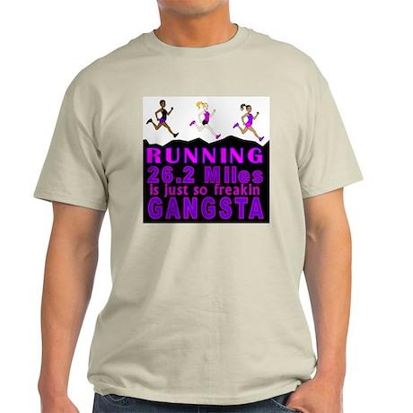 RUNNING IS SO GANGSTA FULL MARATHON T-Shirt