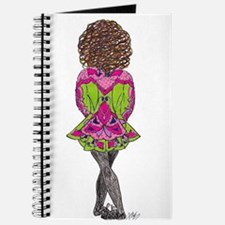 Pink & Green Irish Dancer Journal