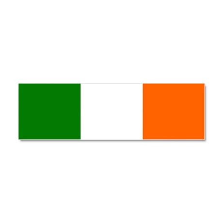 Flag of Ireland Borderless Car Magnet 10 x 3