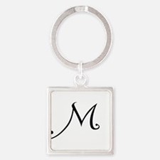 A Yummy Apology Monogram M Square Keychain
