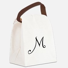 A Yummy Apology Monogram M Canvas Lunch Bag
