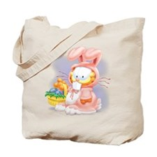 Easter Kitty Tote Bag