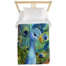 peacock party Twin Duvet