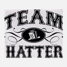 Team Hatter Throw Blanket