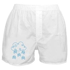 Cute Skull Raincloud Boxer Shorts