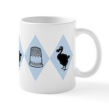 Dodo And Thimble Pattern Mug