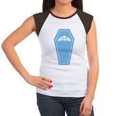 Cute Blue Coffin Women's Cap Sleeve T-Shirt
