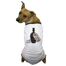 Drink Me Bottle Worn Dog T-Shirt