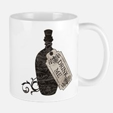 Drink Me Bottle Worn Mug
