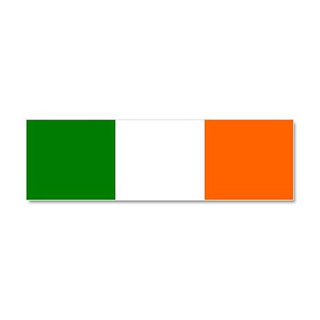 Flag of Ireland Car Magnet 10 x 3