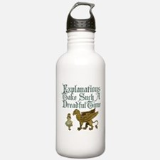 Alice Gryphon Explanations Water Bottle