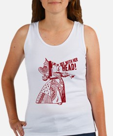 Red Queen Off With Her Head Women's Tank Top