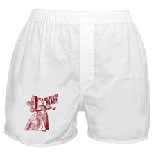 Red Queen Off With Her Head Boxer Shorts