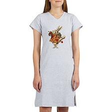 Alice White Rabbit Vintage Women's Nightshirt