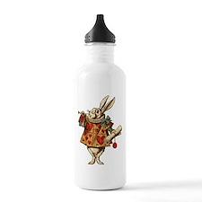 Alice White Rabbit Vintage Water Bottle