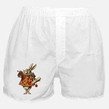 Alice White Rabbit Vintage Boxer Shorts