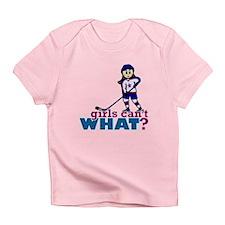 Girl Hockey Player Infant T-Shirt