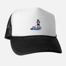 Girl Hockey Player Trucker Hat