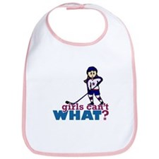 Girl Hockey Player Bib