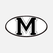 Collegiate Monogram M Patches