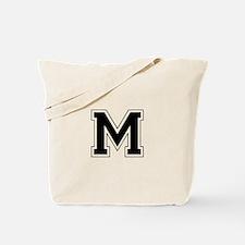 Collegiate Monogram M Tote Bag
