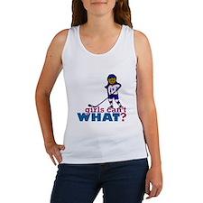 Hockey Girl Women's Tank Top
