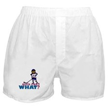 Hockey Girl Boxer Shorts