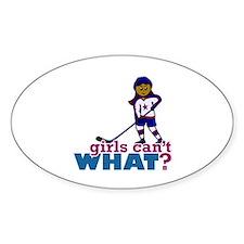 Hockey Girl Decal