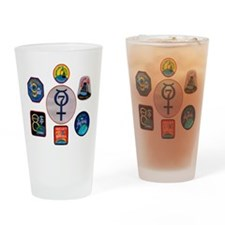 Mercury Commemorative Drinking Glass