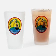 Freedom 7 Alan Shepherd Drinking Glass