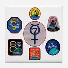 Mercury Commemorative Tile Coaster
