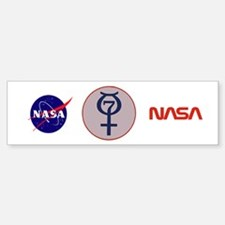 Project Mercury Program Logo Bumper Bumper Sticker