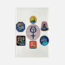 Mercury Commemorative Rectangle Magnet
