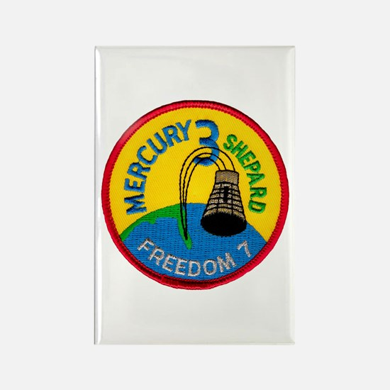 Freedom 7 Alan Shepherd Rectangle Magnet