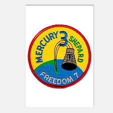 Freedom 7 Alan Shepherd Postcards (Package of 8)