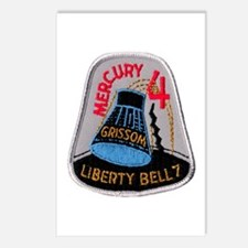 Liberty Bell 7 Gus Grissom Postcards (Package of 8