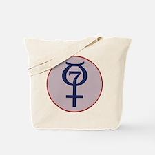 Project Mercury Program Logo Tote Bag