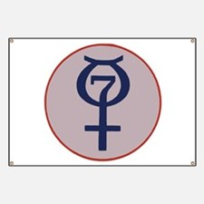 Project Mercury Program Logo Banner