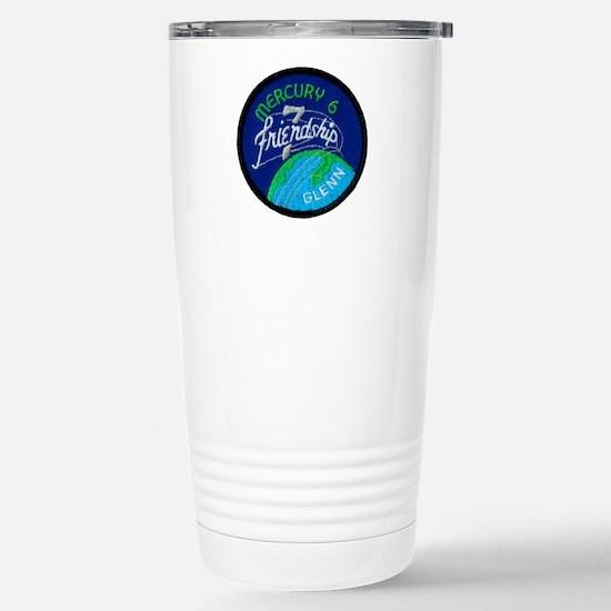 Friendship 7-John Glenn Stainless Steel Travel Mug