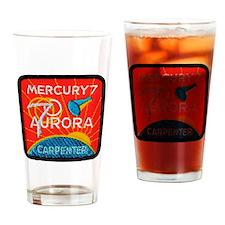 Aurora 7-Scott Carpenter Drinking Glass