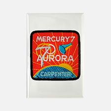 Aurora 7-Scott Carpenter Rectangle Magnet