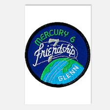 Friendship 7–John Glenn Postcards (Package of 8)