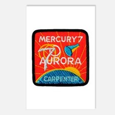 Aurora 7-Scott Carpenter Postcards (Package of 8)