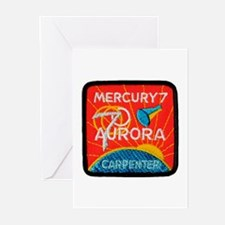 Aurora 7-Scott Carpenter Greeting Cards (Pk of 10)